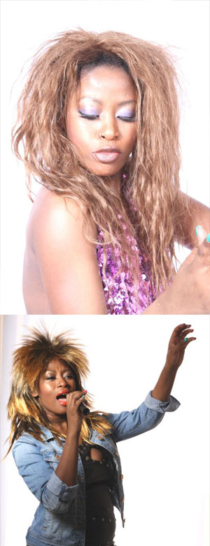 The Divas Tribute singers - Janice as Tina Turner -